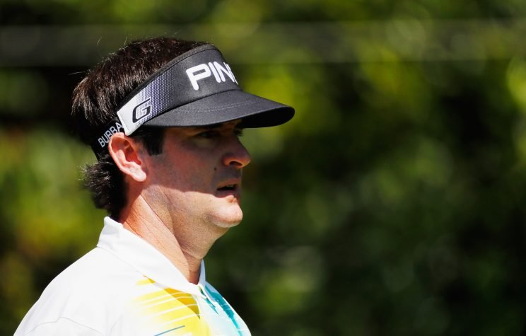 Bubba Watson didn't play his best on Thursday at East Lake. (Getty Images)