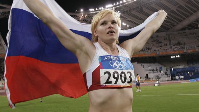 Athletics - Former Olympic champion Kuzenkova fails drugs test
