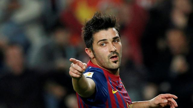 Villa back in Barcelona squad after eight-month lay-off