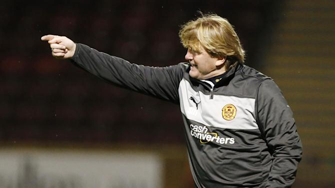 Stuart McCall hailed Motherwell's 'grit' in the second half