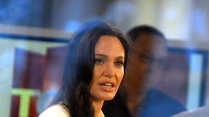 Jolie Angelina Today Show