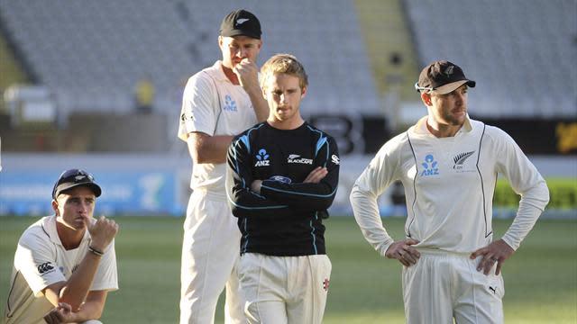 Cricket - McCullum heartbroken as luck eludes NZ to save England