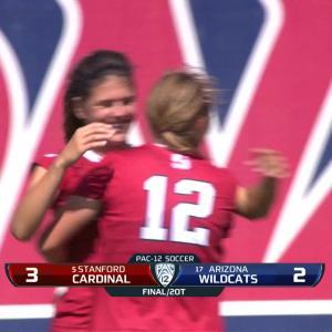 Recap: No. 5 Stanford women's soccer gets OT win over No. 17 Arizona