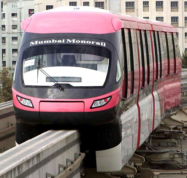 India's first monorail in Mumbai