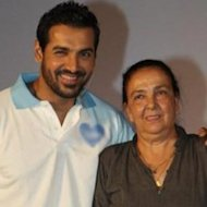 What Made John Abraham's Mother Cry?