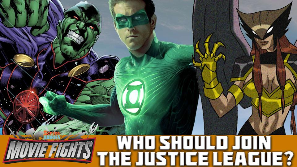 Who Should Join The Justice League? - MOVIE FIGHTS