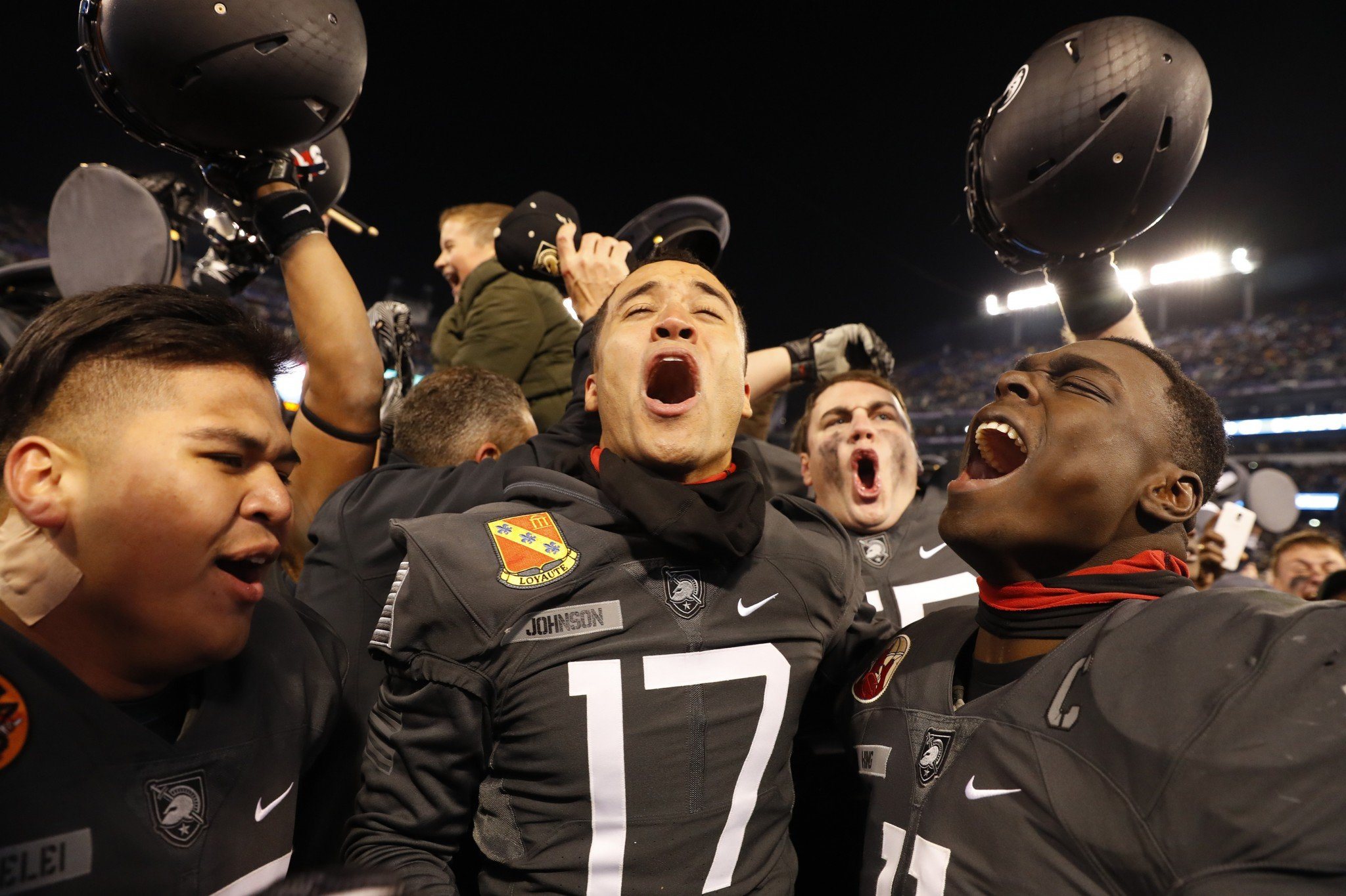 Army guaranteed a finish above .500 with a win over Navy. (Getty)