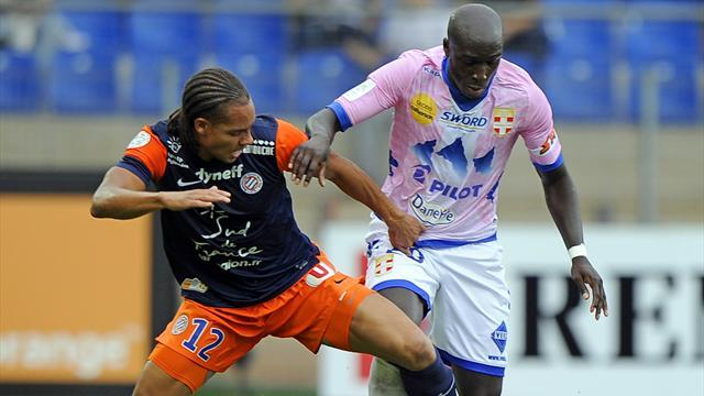 Khlifa downs Montpellier with hat trick