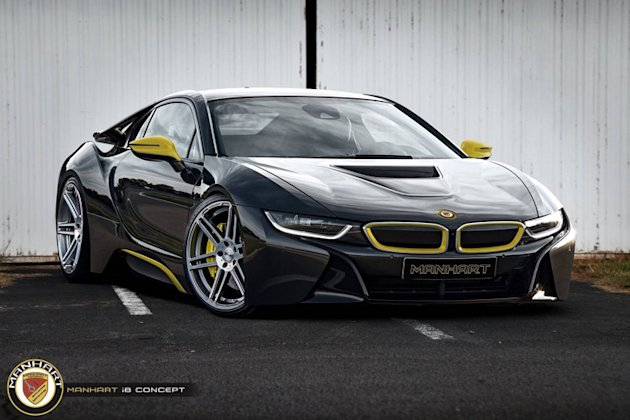 manhart-bmw-i8-render