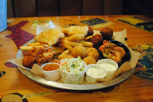 9 seriously unhealthy meals yahoo finance for Two fish crab shack