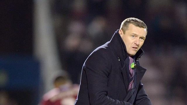Football - Heavy loss Boothroyd's last