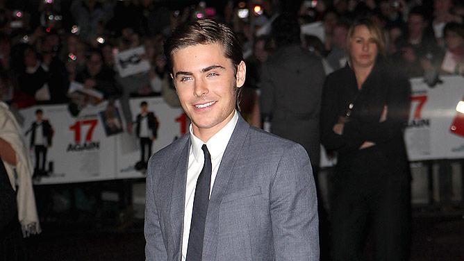 Efron Zac Again London Pr