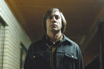 Javier Bardem in Miramax Films' No Country For Old Men