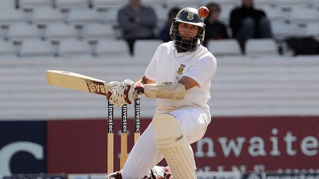 Cricket - South Africa await stork's arrival as Amla arrives home