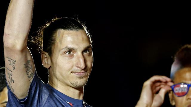 Ligue 1 - Ibrahimovic named Ligue 1 player of the season