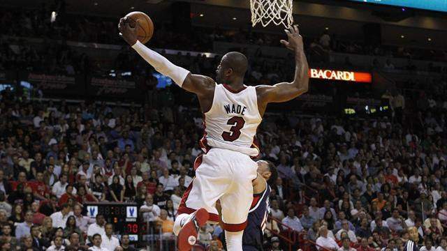 Basketball - Heat streak continues with win over Hawks