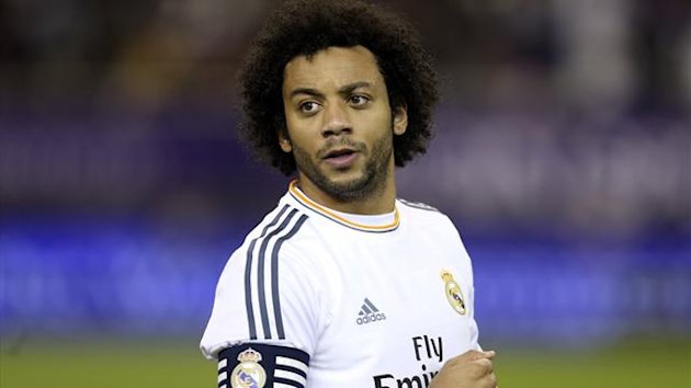 Real Madrid's Marcelo