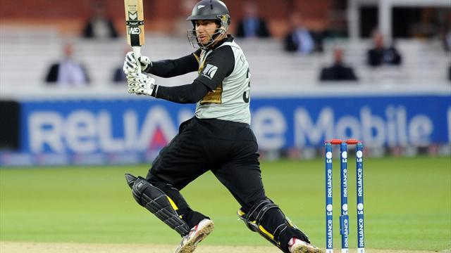 Cricket - England in the hunt despite NZ assault