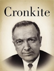 "This book cover image released by Harper shows ""Cronkite,"" by Douglas Brinkley. (AP Photo/Harper)"