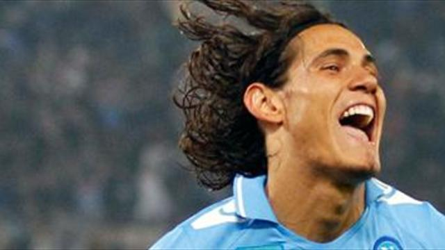 Serie A - Man City's £13.3m Cavani wage offer