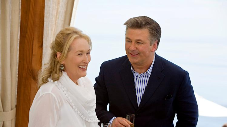 It's Complicated Production Photos 2009 Unviersal Pictures Meryl Streep Alec Baldwin
