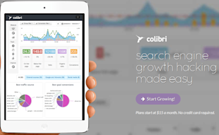 Colibri Tool Review – Measure Trends & Analyze Conversions image CT 01 Landing Page