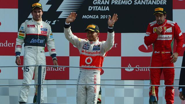 Hamilton eases to victory in Italian GP