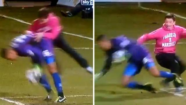 League Two - Wycombe helping Police after goalkeeper attack