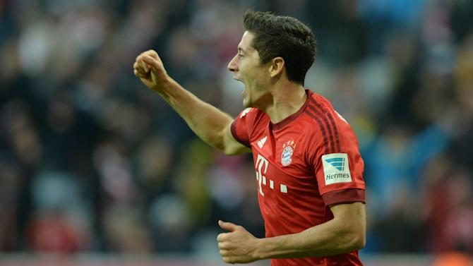 Lewandowski focused on writing his own Bayern history after Gerd Muller comparisons