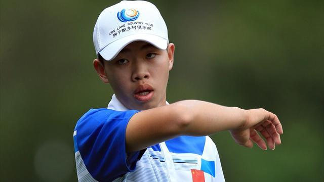 Golf - Chinese prodigy Guan again a cut above