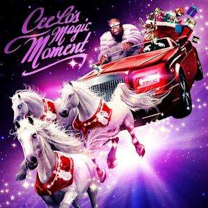 """This CD cover image released by Atlantic Records shows CeeLo Green's holiday release, """"CeeLo's Magic Moment.""""  (AP Photo/Atlantic Records)"""