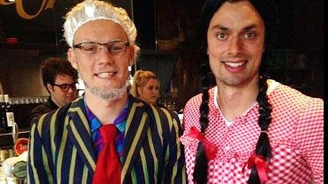 All Sports - Club to punish duo in 'unacceptable' Rolf Harris dress-up stunt