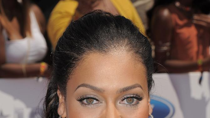 La La Anthony arrives at the BET Awards on Sunday, July 1, 2012, in Los Angeles. (Photo by Jordan Strauss/Invision/AP)