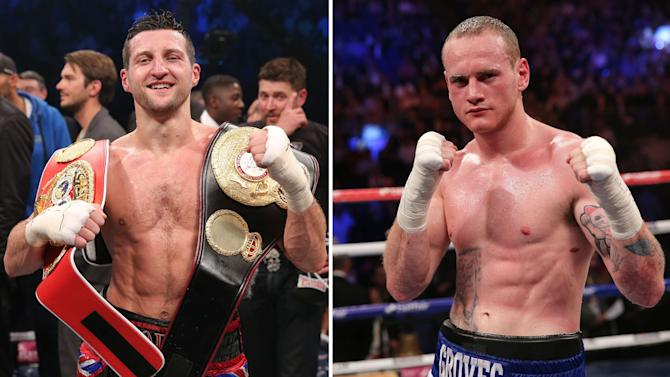 Boxing - Carl Froch and George Groves Filers