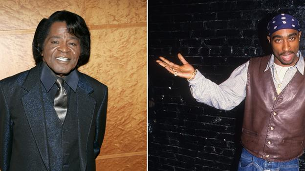 James Brown and 2Pac 'Unchained' for Film Track