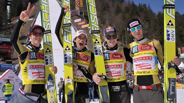 Ski Jumping - Austria triumph in Planica team event