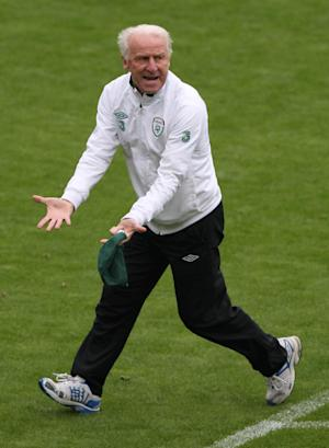 Giovanni Trapattoni is hoping for a change of fortune at Euro 2012