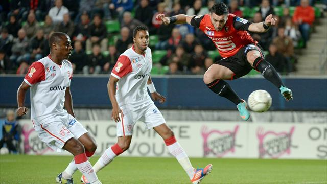 Rennes through in French League Cup