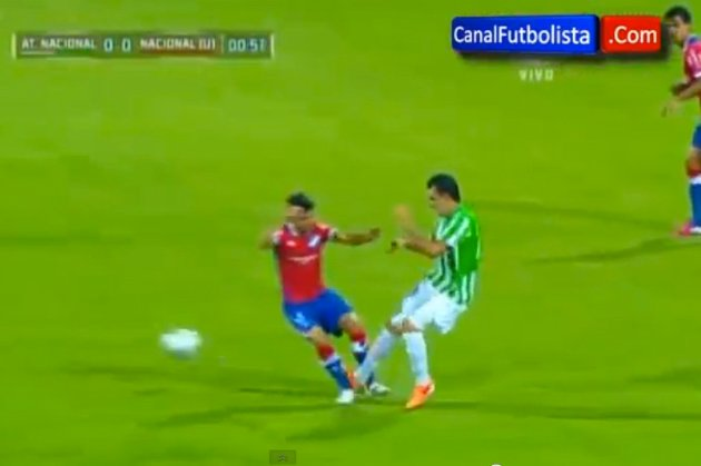DTotD: Atletico Nacional midfielder receives red card 27 seconds into match