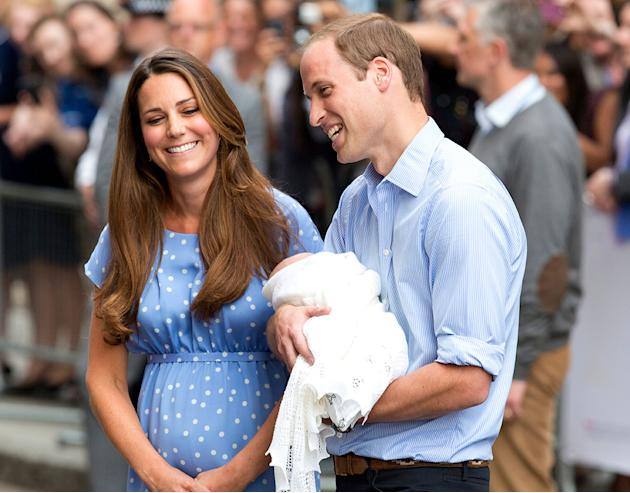 The Royal Baby Makes His Big Debut