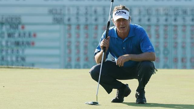 Golf - Allen a record five ahead at US Senior Open