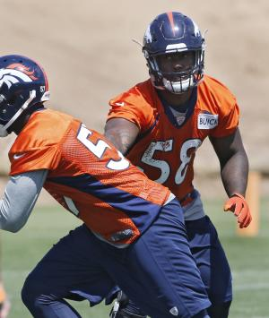 High hopes for Denver's new pass-rush tandem