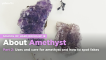 School of Hard Rocks Lesson 18 - About Amethyst