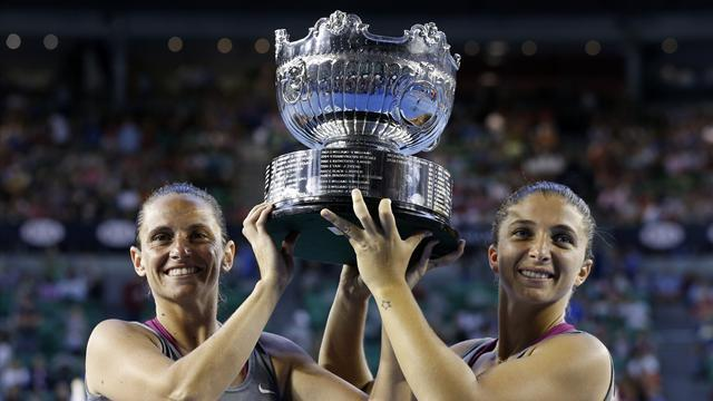Australian Open - Errani and Vinci retain doubles title