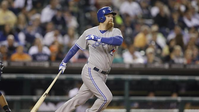 Surging Blue Jays beat slumping Tigers 8-2