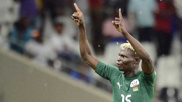World Cup - Bance puts Burkina Faso back on World Cup trail