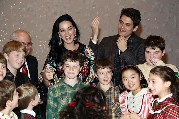 "Katy Perry And John Mayer Attend ""A Christmas Story, The Musical"" Broadway Performance"