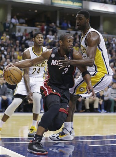 George scores 29 to lead Pacers over Heat 87-77