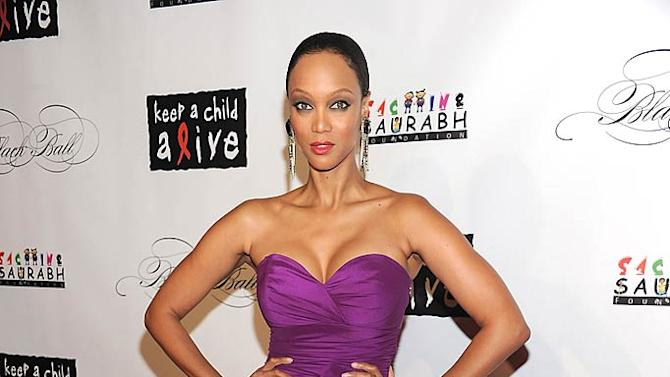 Tyra Banks KeepA Child Alive Ball