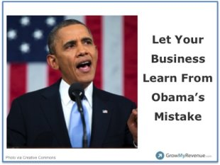 Learn A Valuable Lesson From Obama's Big Mistake In The State of The Union image 02032014